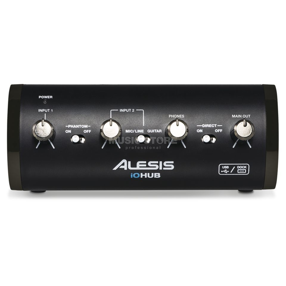 Alesis iO HUB Audio Interface for iOS and USB Produktbillede