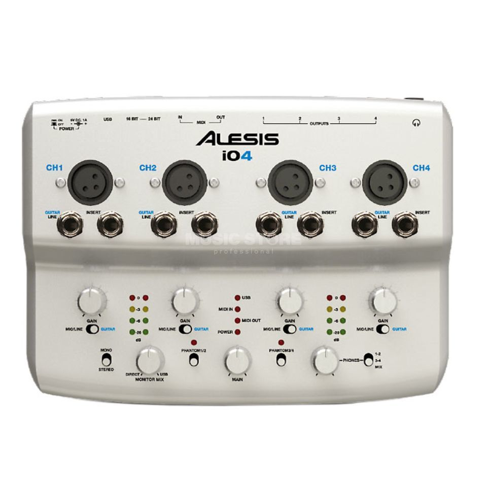 Alesis IO4 USB 2.0 Audiointerface Produktbild