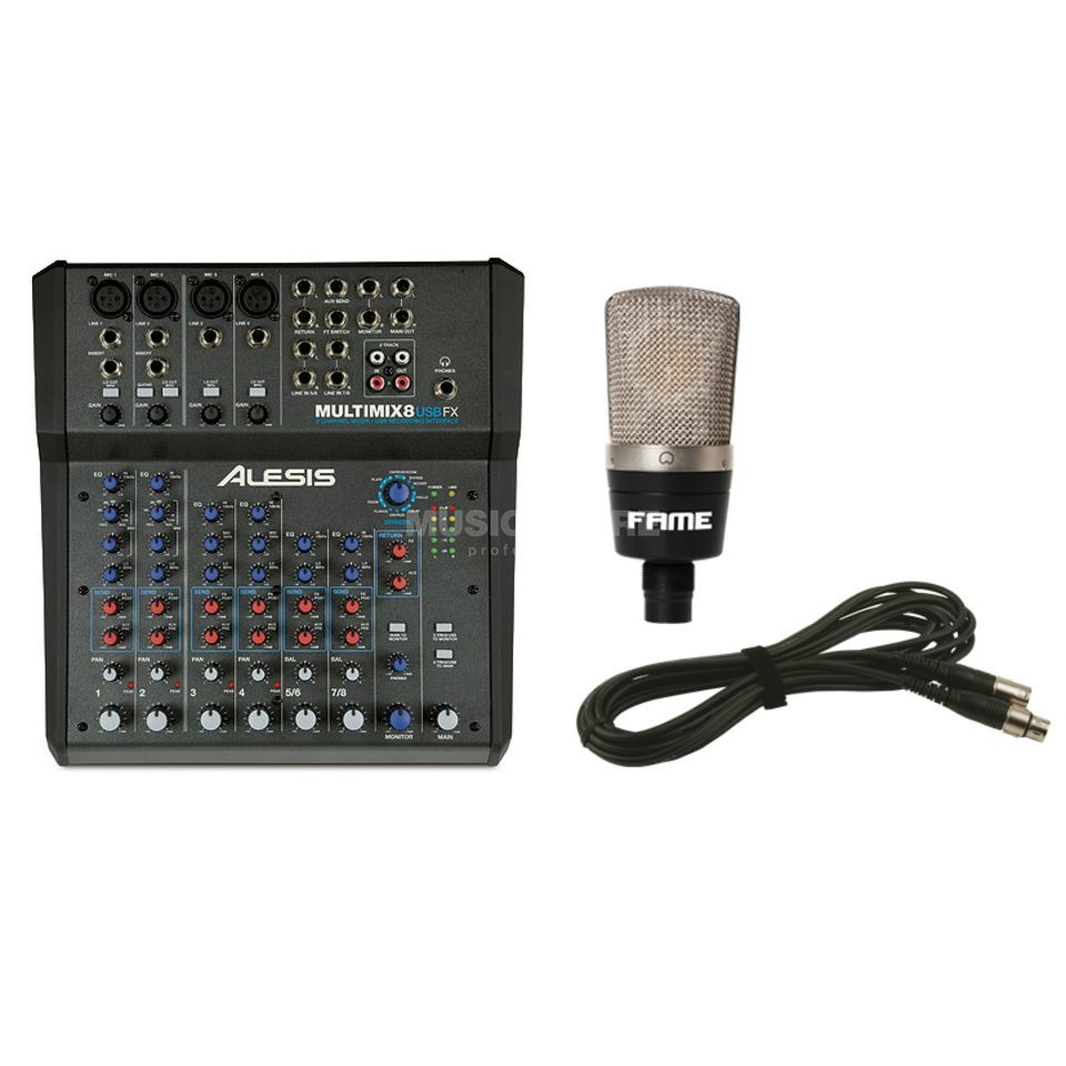 Alesis MultiMix 8 USB FX - Set Produktbild