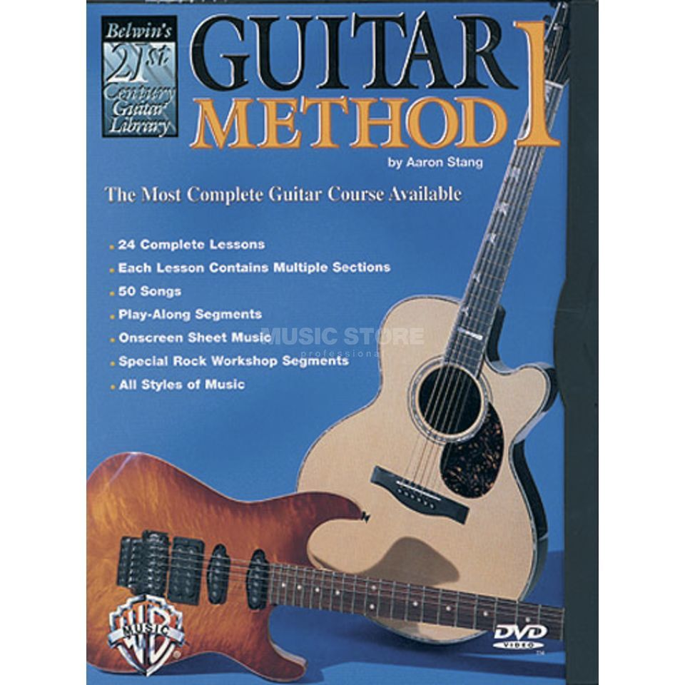 Alfred Music 21st Century Guitar Method DVD Produktbild