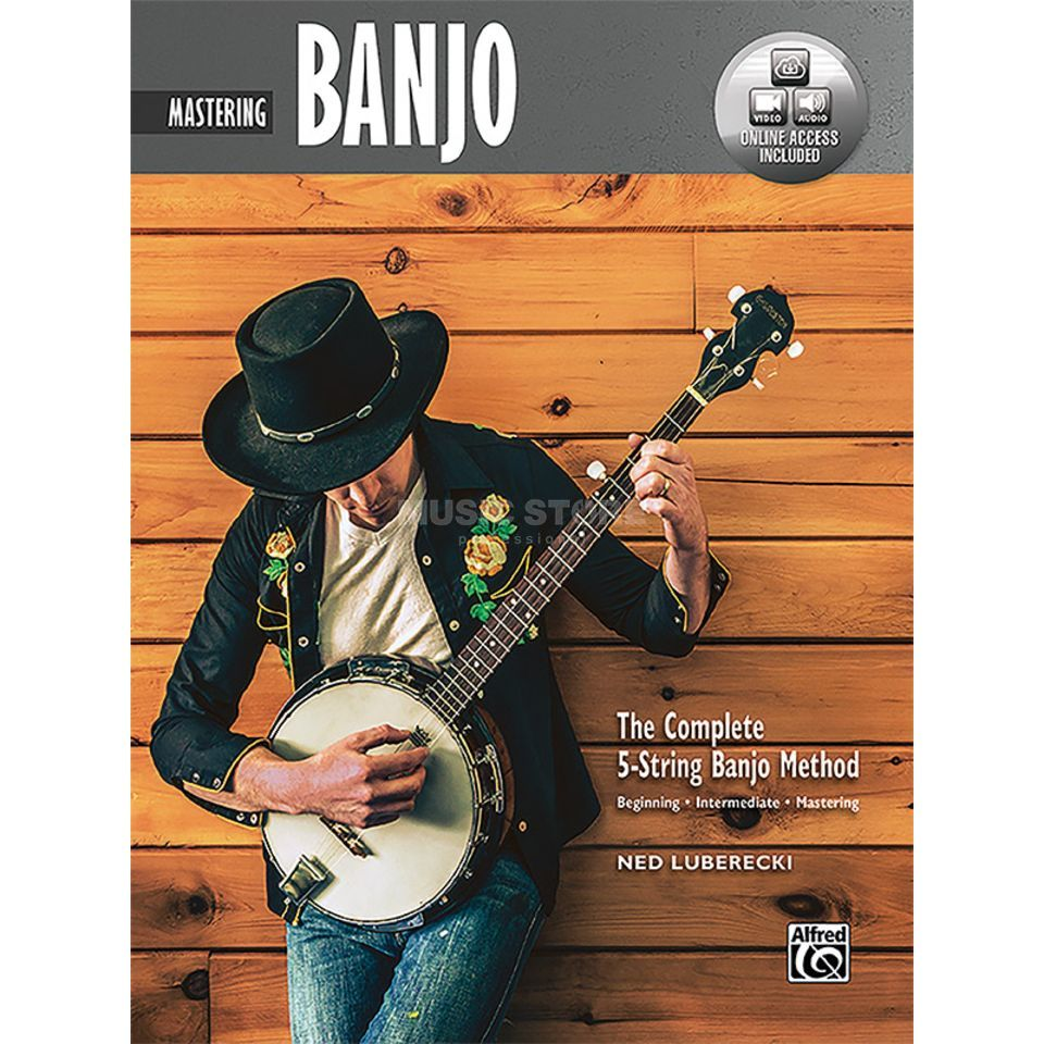 Alfred Music 5-String Banjo Method Mastering Banjo Product Image