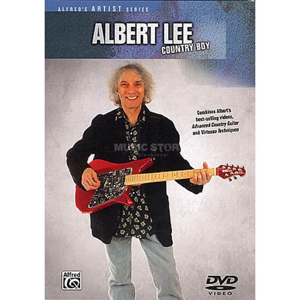 Alfred Music Albert Lee - Country Boy DVD Product Image
