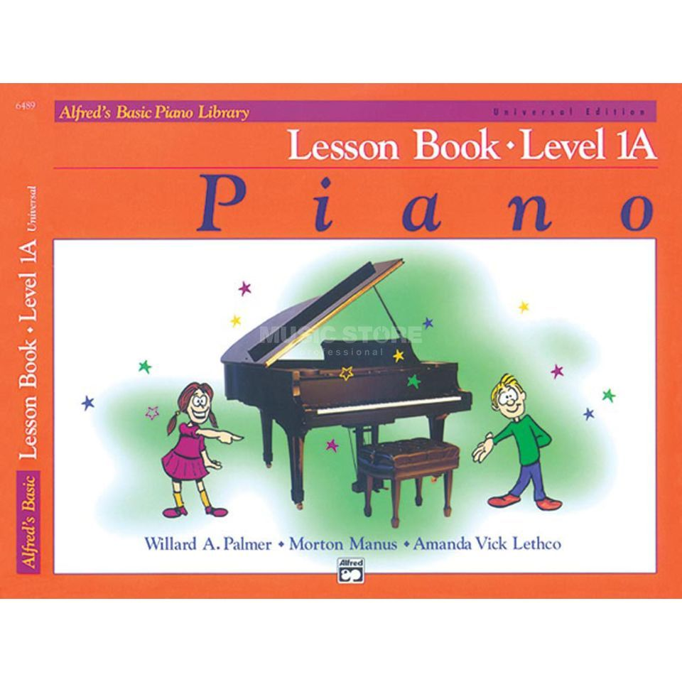 Alfred Music Basic Piano Lesson Book 1A Piano Solo Produktbillede