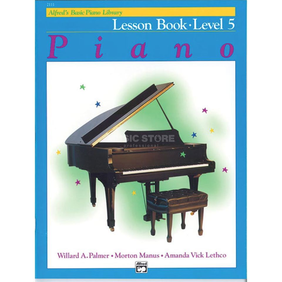 Alfred Music Basic Piano Lesson Book 5 Piano Solo Produktbild