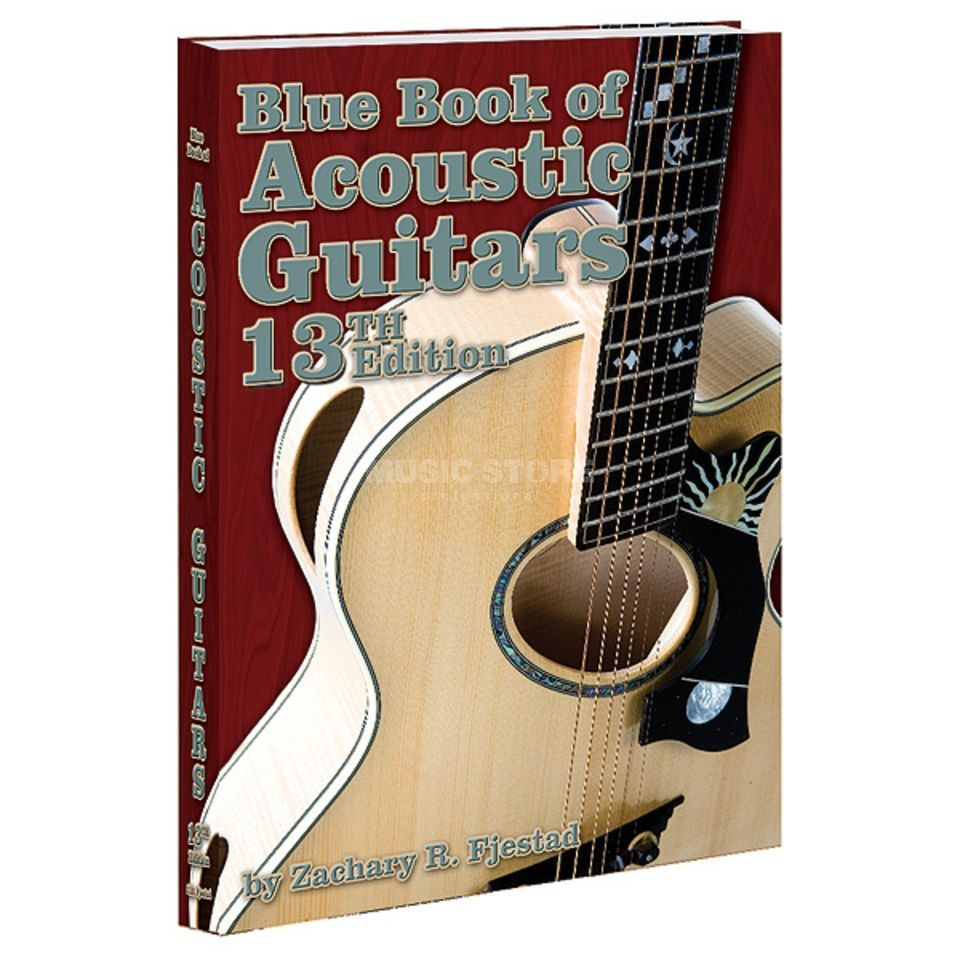 Alfred Music Blue Book of Acoustic Guitars Zachary R. Fjestad (13th Ed.) Produktbild