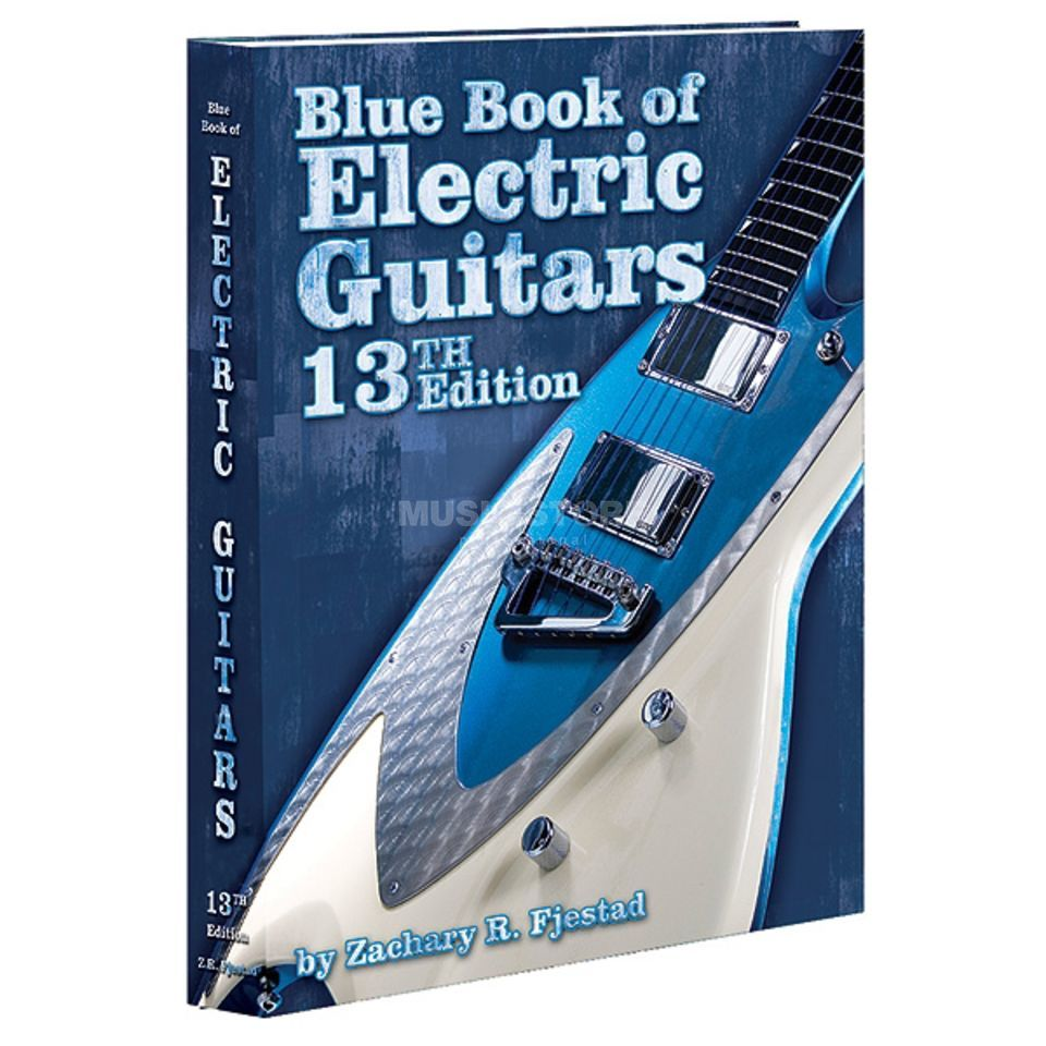 Alfred Music Blue Book of Electric Guitars Zachary R. Fjestad (13th Ed.) Produktbild