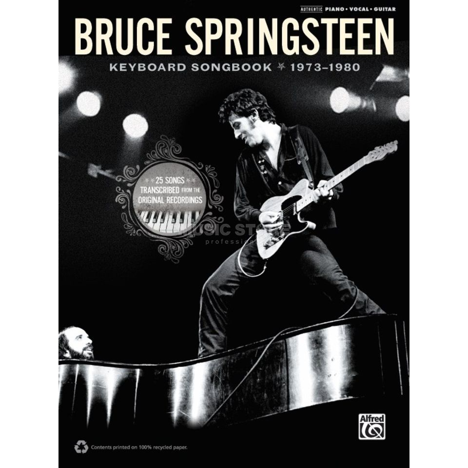 Alfred Music Bruce Springsteen: 73-80 Keyboard Songbook Produktbild