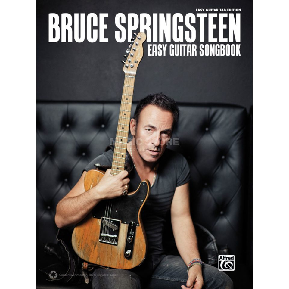 Alfred Music Bruce Springsteen Easy Guitar Songbook Produktbild
