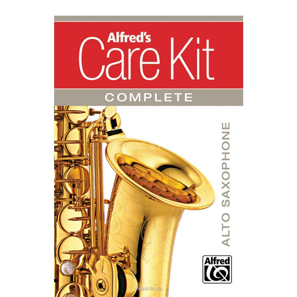 Alfred Music Care Kit Complete: Alto-Saxophone Изображение товара