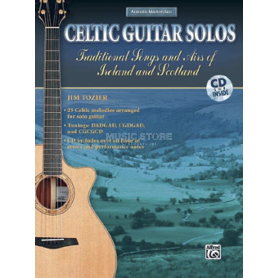 Alfred Music Celtic Guitar Solos Jim Tozier inkl. CD Produktbild