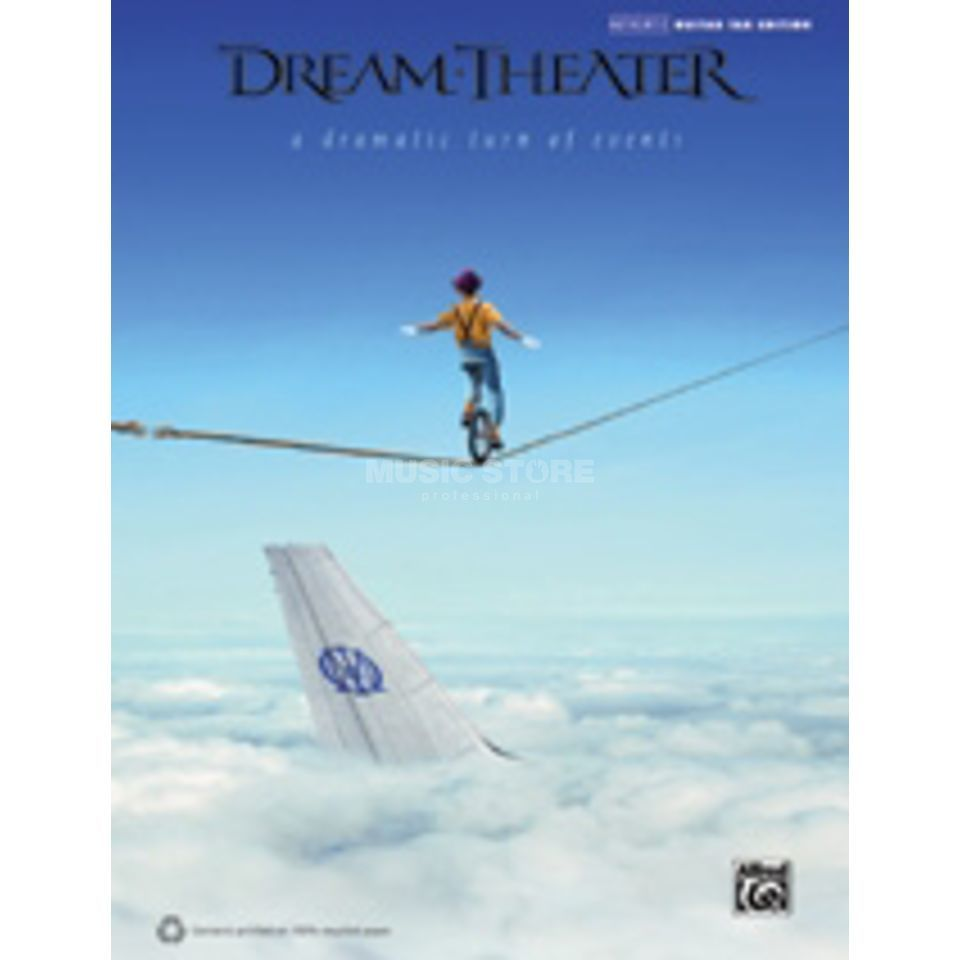 Alfred Music Dream Theater - A Dramatic Turn of Events TAB Produktbild