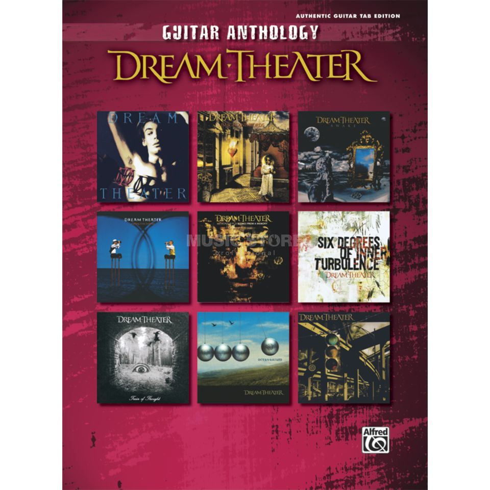 Alfred Music Dream Theater: Guitar Anthology Produktbild