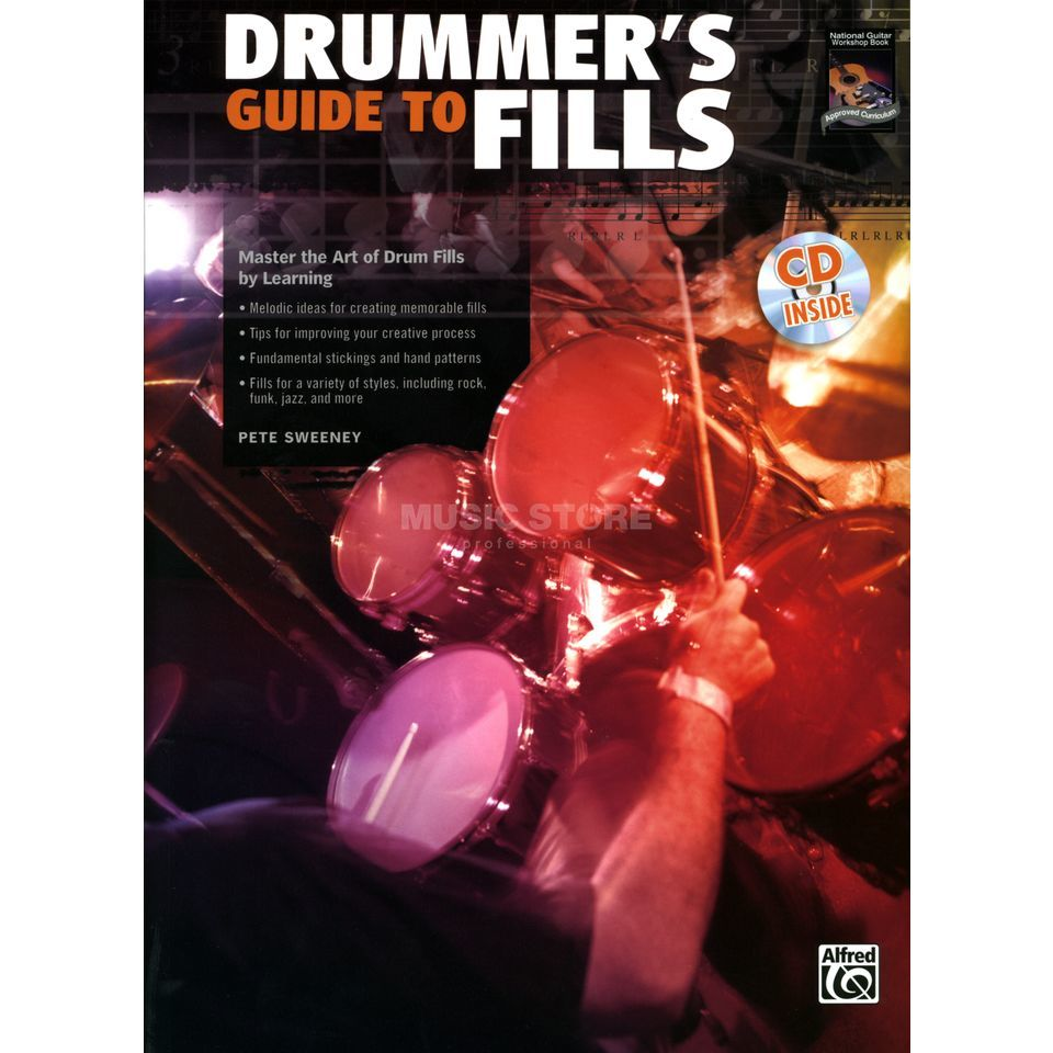 Alfred Music Drummer´s Guide To Fills Pete Sweeney incl. CD Produktbillede