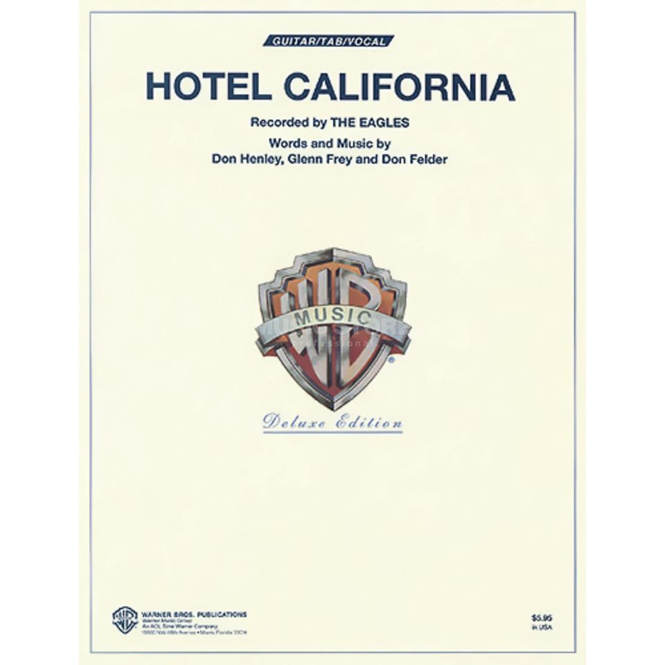 Alfred Music Eagles - Hotel California TAB Produktbillede