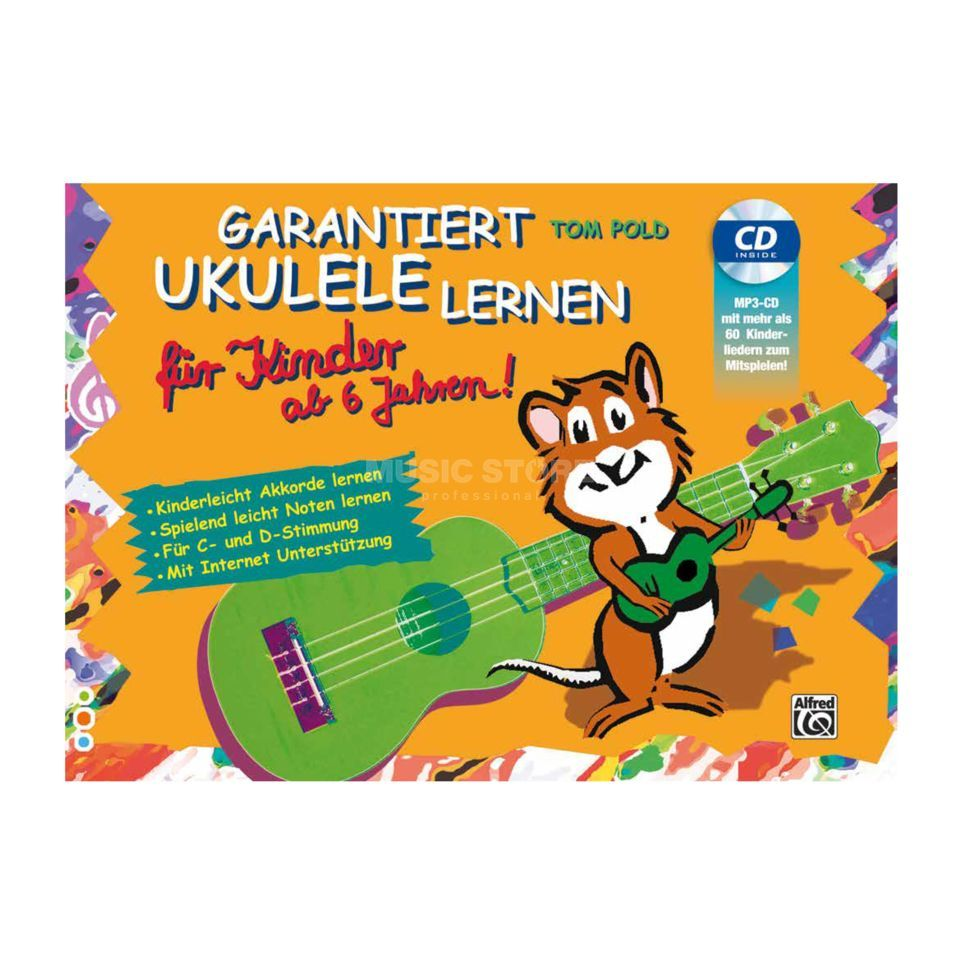 alfred music garantiert ukulele lernen f r kinder. Black Bedroom Furniture Sets. Home Design Ideas