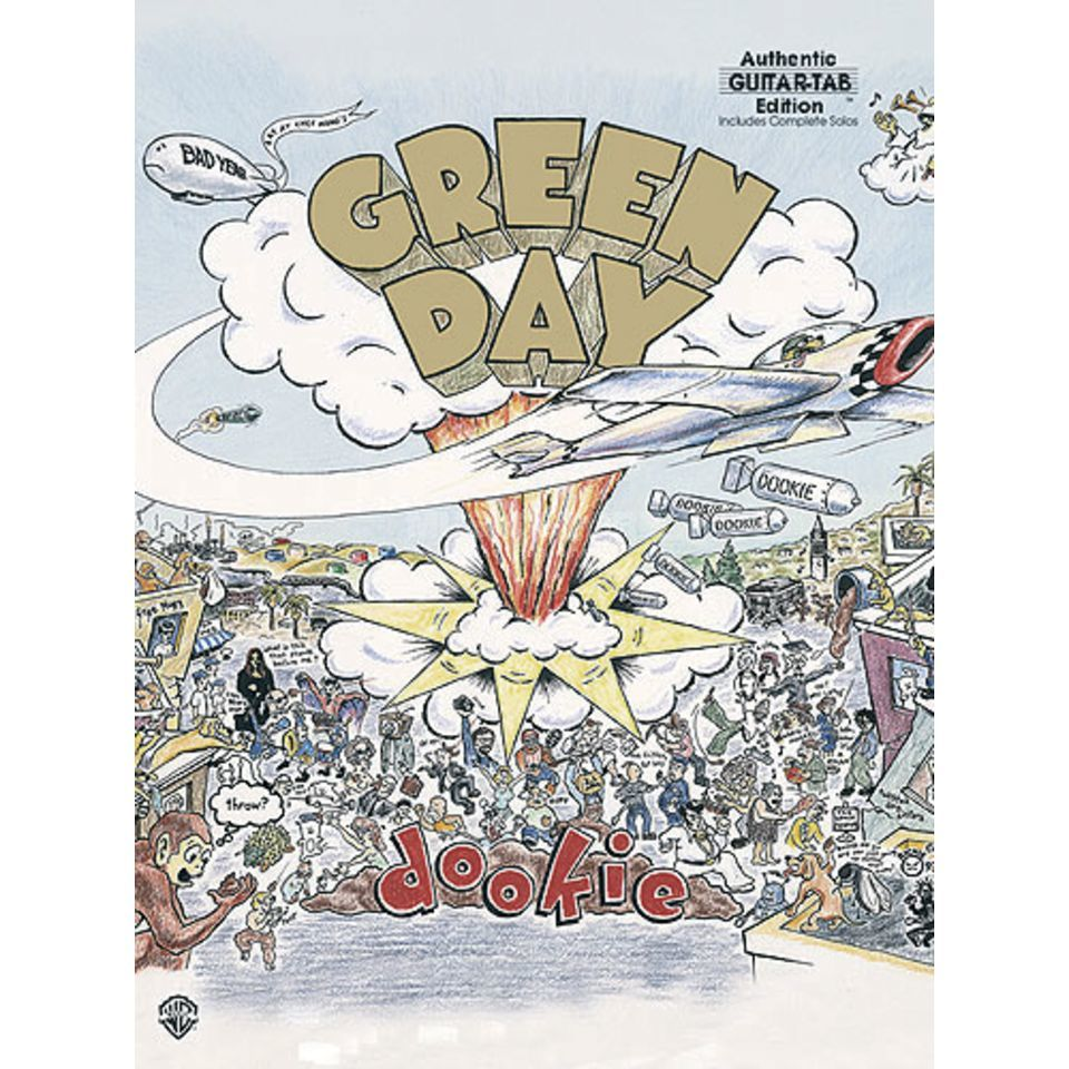 Alfred Music Green Day: Dookie Produktbild