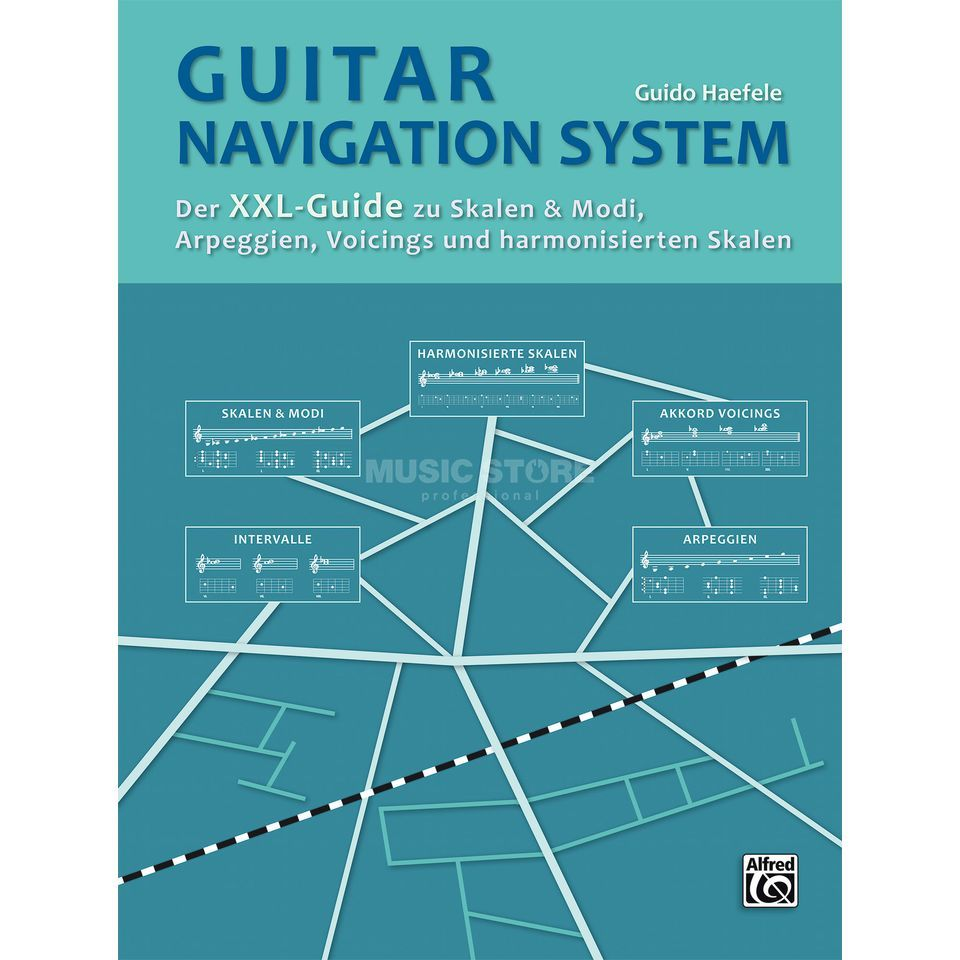 Alfred Music Guitar Navigation System Imagen del producto