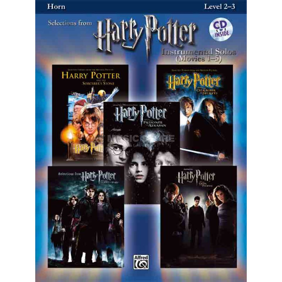 Alfred Music Harry Potter 1-5 - Trompete Instrumental Solos, Buch/CD Produktbild