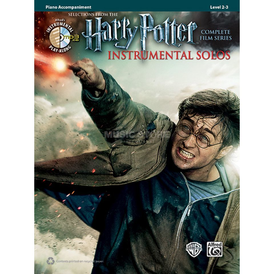 Alfred Music Harry Potter - Piano Acc. Instrumental Solos, Book/CD Produktbillede