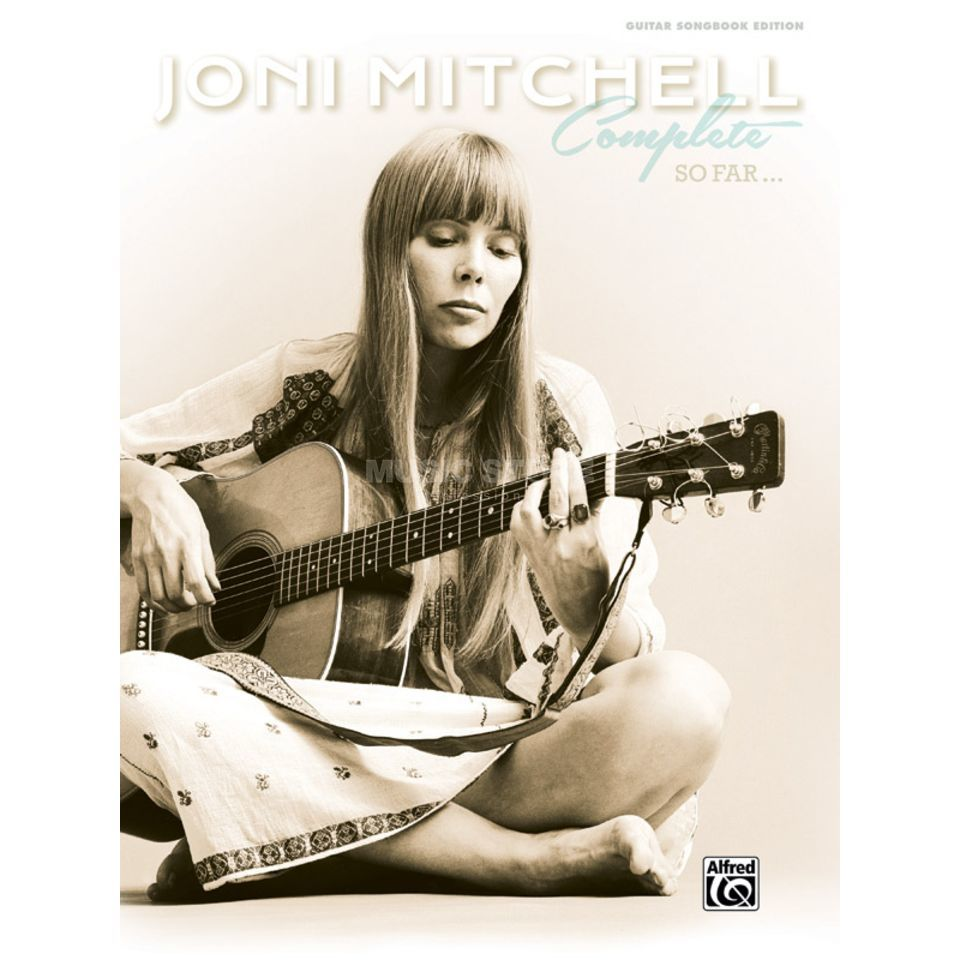Alfred Music Joni Mitchell: Complete So Far Produktbild