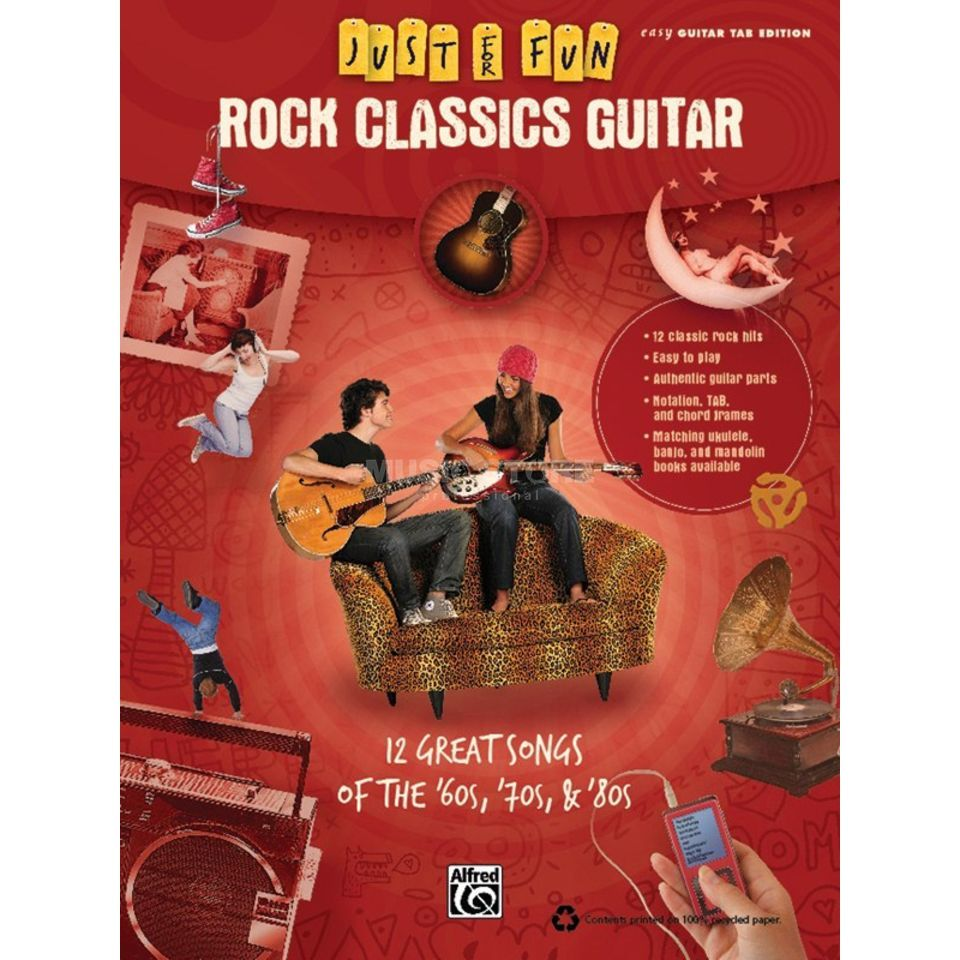 Alfred Music Just for Fun: Rock Classics Guitar Produktbild