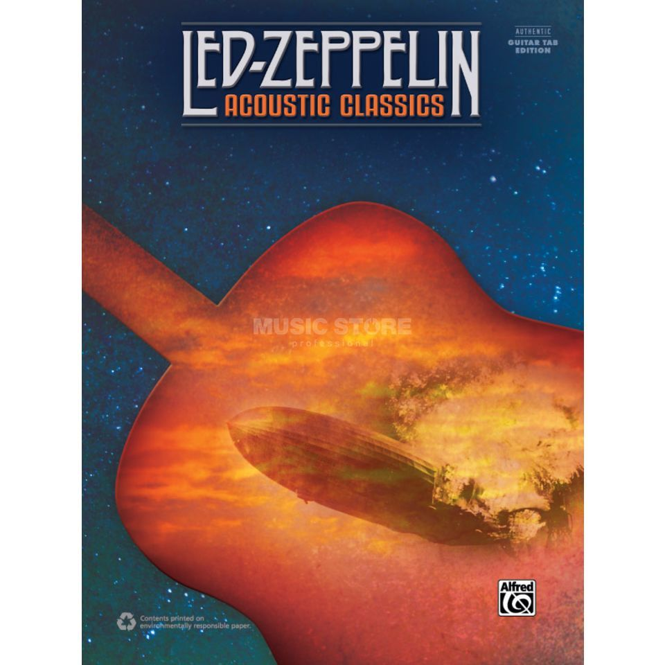 Alfred Music Led Zeppelin: Acoustic Classics (Revised) Produktbillede