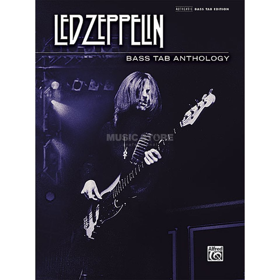 Alfred Music Led Zeppelin: Bass TAB Anthology Produktbild