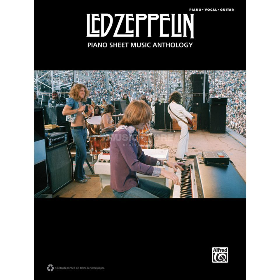 Alfred Music Led Zeppelin: Piano Sheet Music Anthology Produktbillede