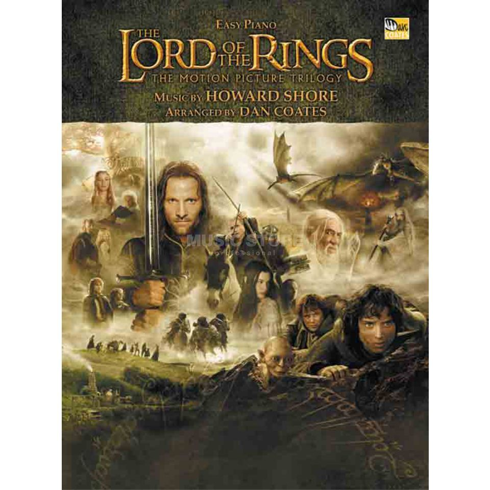 Alfred Music Lord of the Rings Howard Shore - Klavier (easy) Produktbild