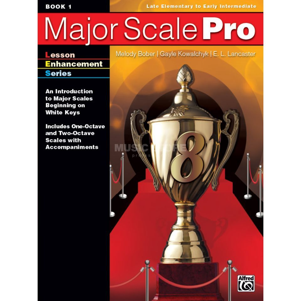 Alfred Music Major Scale Pro, Book 1 Produktbillede