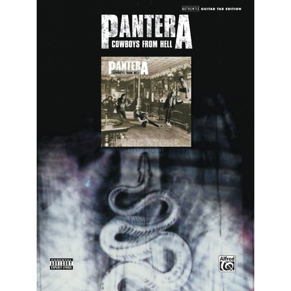 Alfred Music Pantera - Cowboys From Hell TAB Produktbild