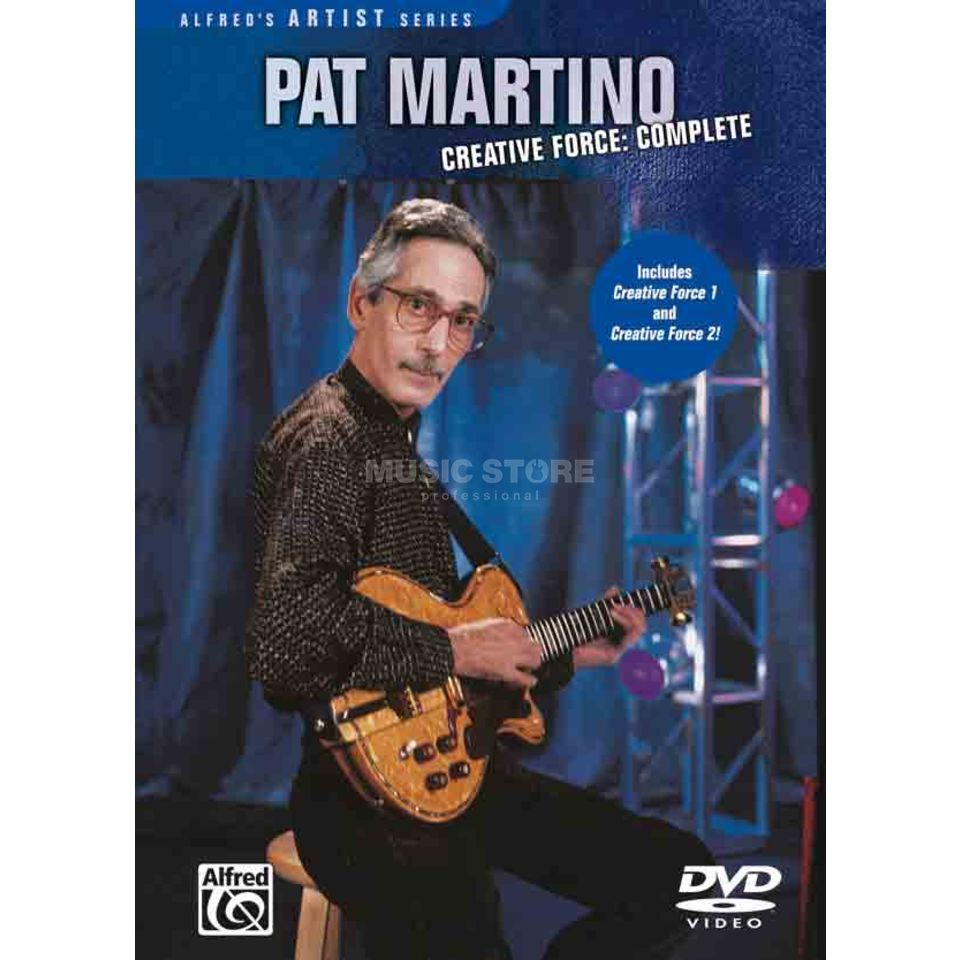 Alfred Music Pat Martino - Creative Force DVD Produktbild