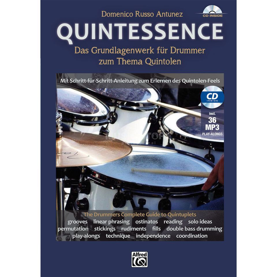 Alfred Music Quintessence Domenico Russo Antunez Produktbillede