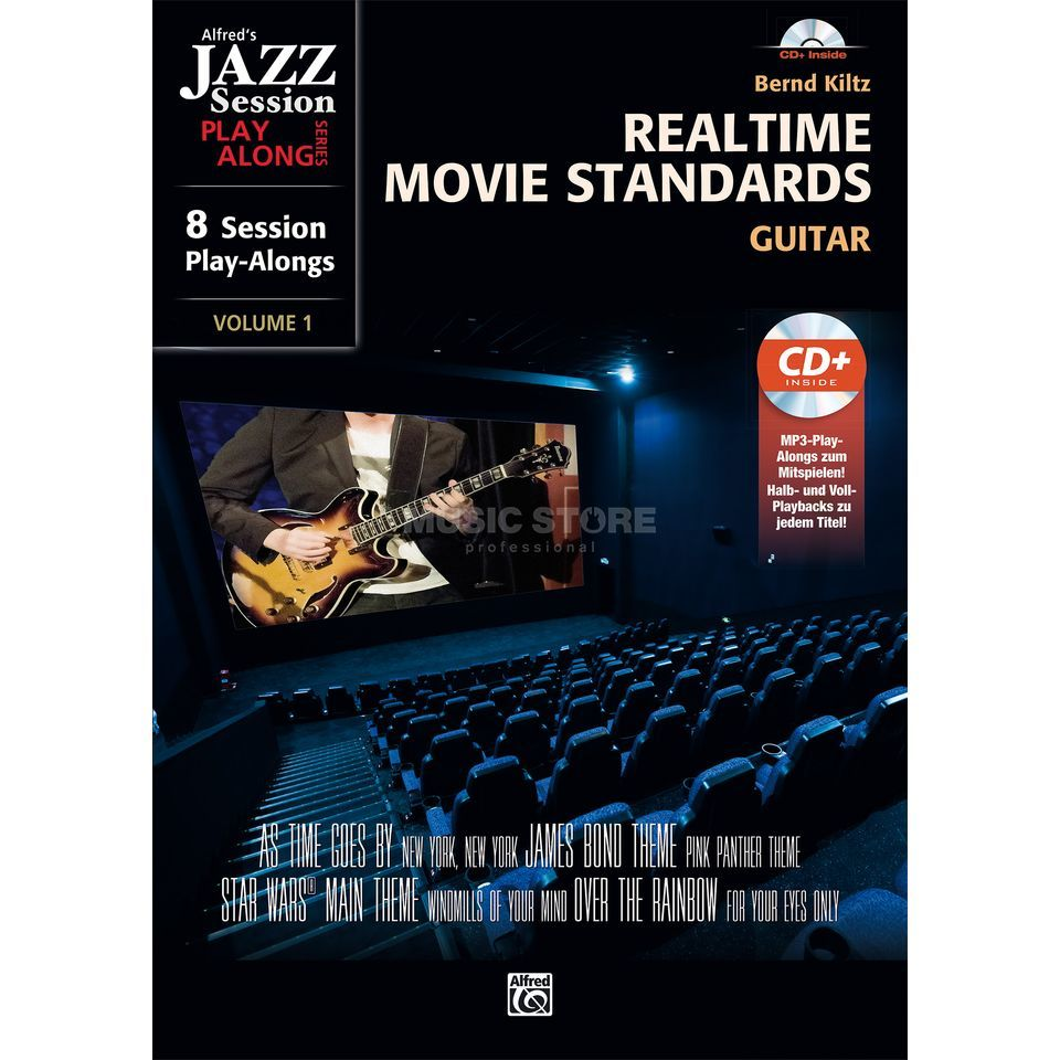 Alfred Music Realtime Movie Standards für Gitarre Produktbild
