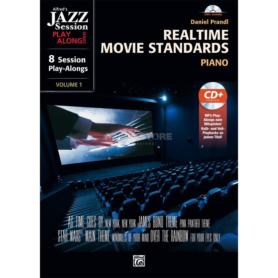 Alfred Music Realtime Movie Standards Klavier Produktbild