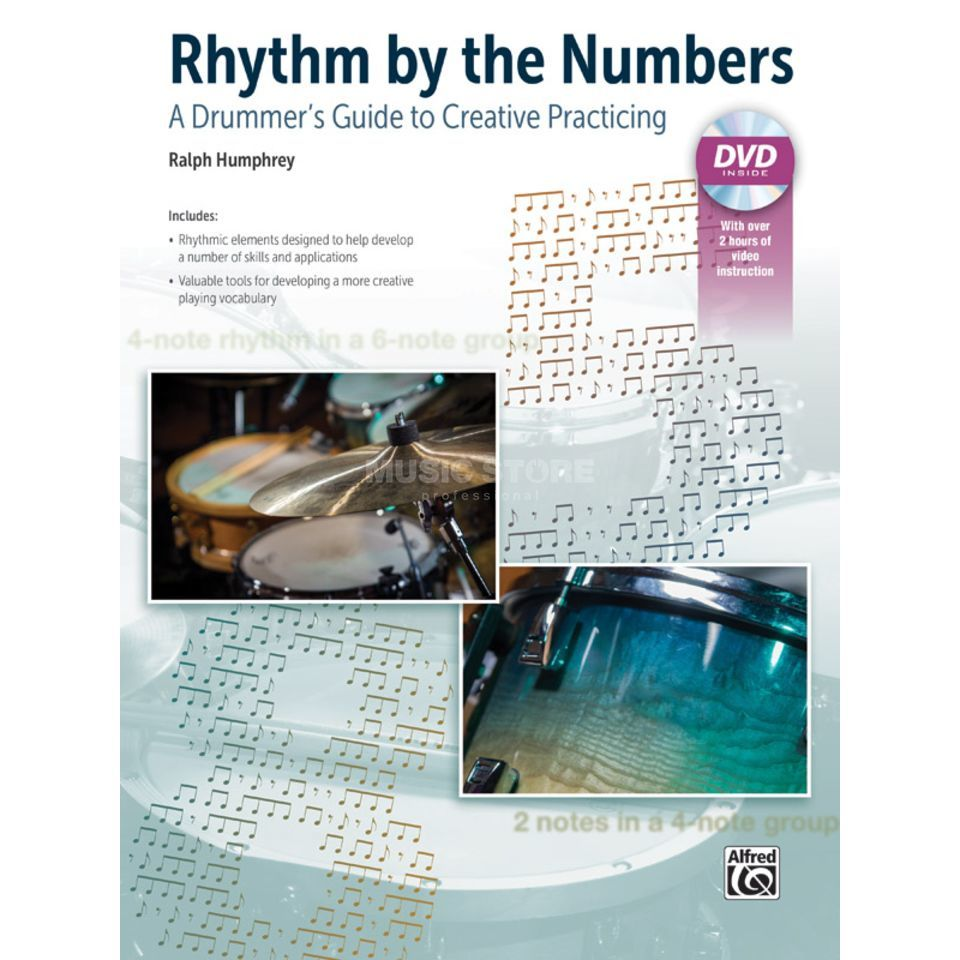 Alfred Music Rhythm by the Numbers Ralph Humphrey Image du produit