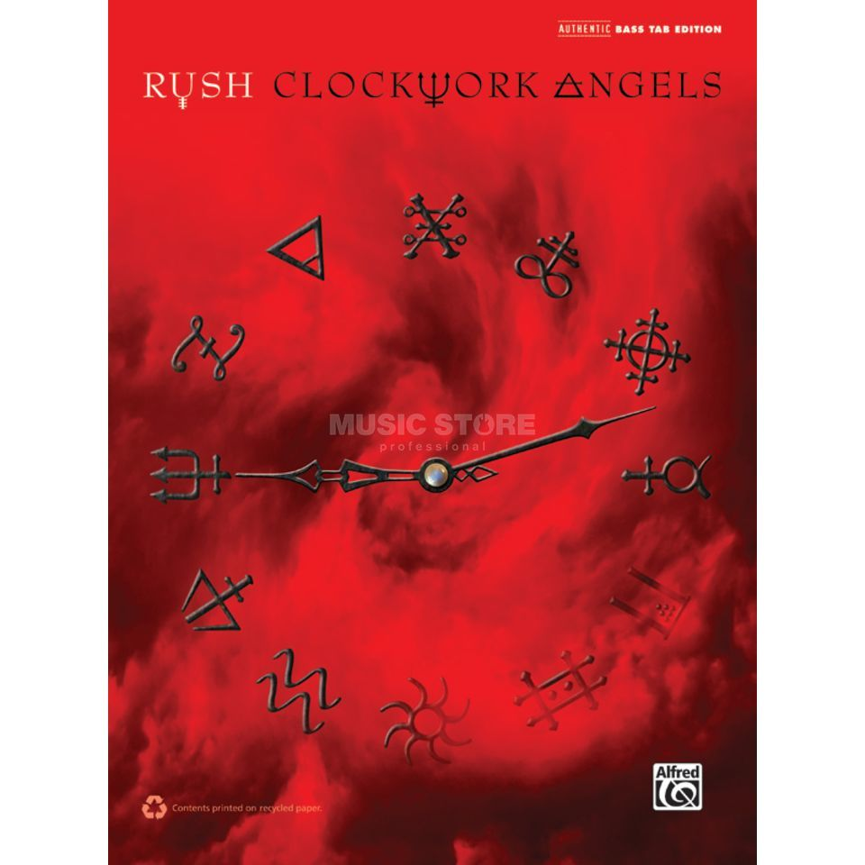 Alfred Music Rush: Clockwork Angels Bass-TAB Produktbillede