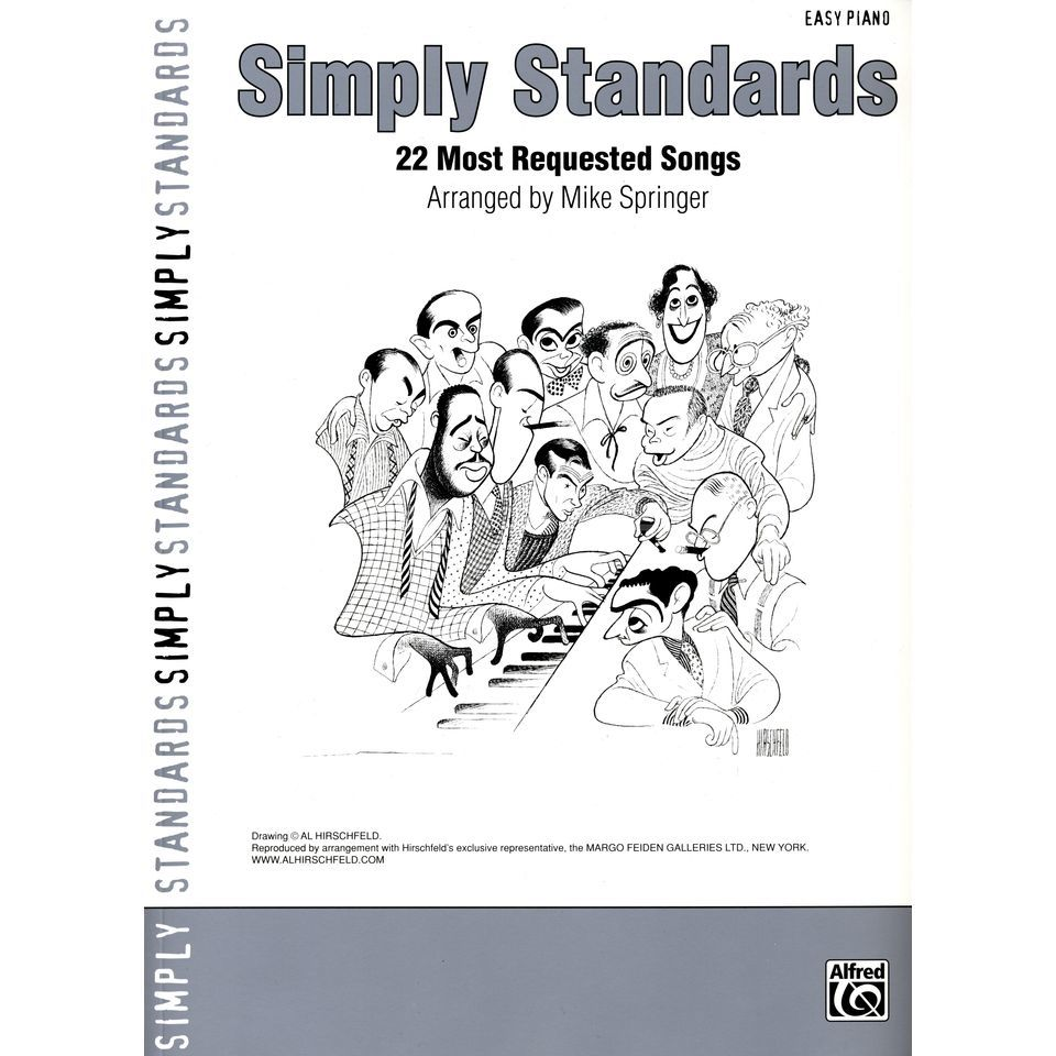 Alfred Music Simply Standards Easy Piano - Songbook Produktbild