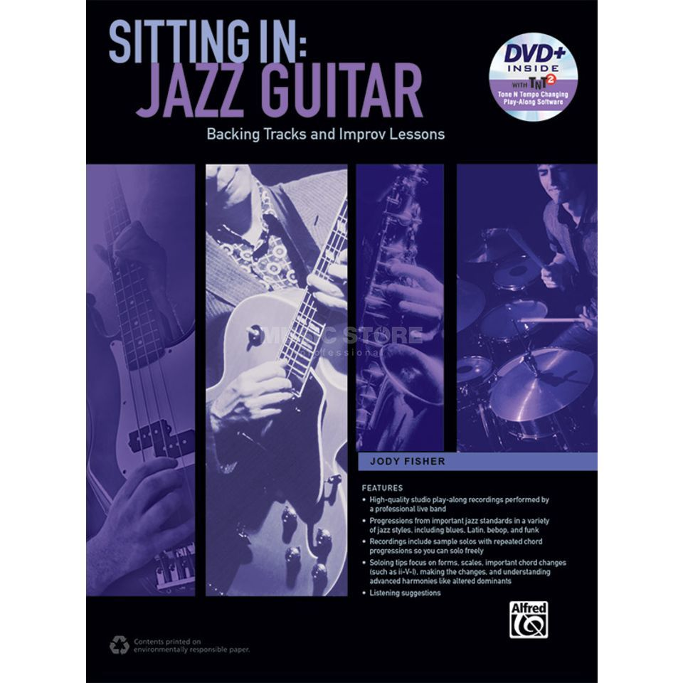 Alfred Music Sitting In: Jazz Guitar Image du produit