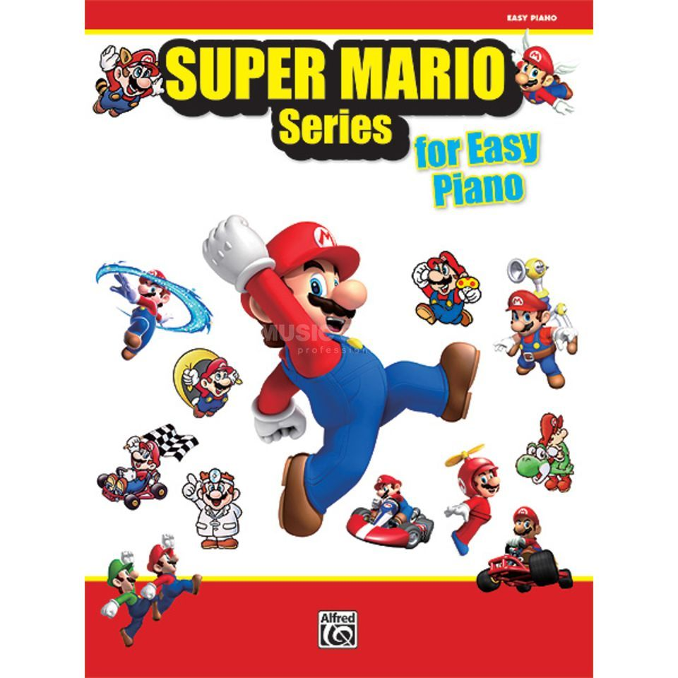 Alfred Music Super Mario Series for Easy Piano Produktbild