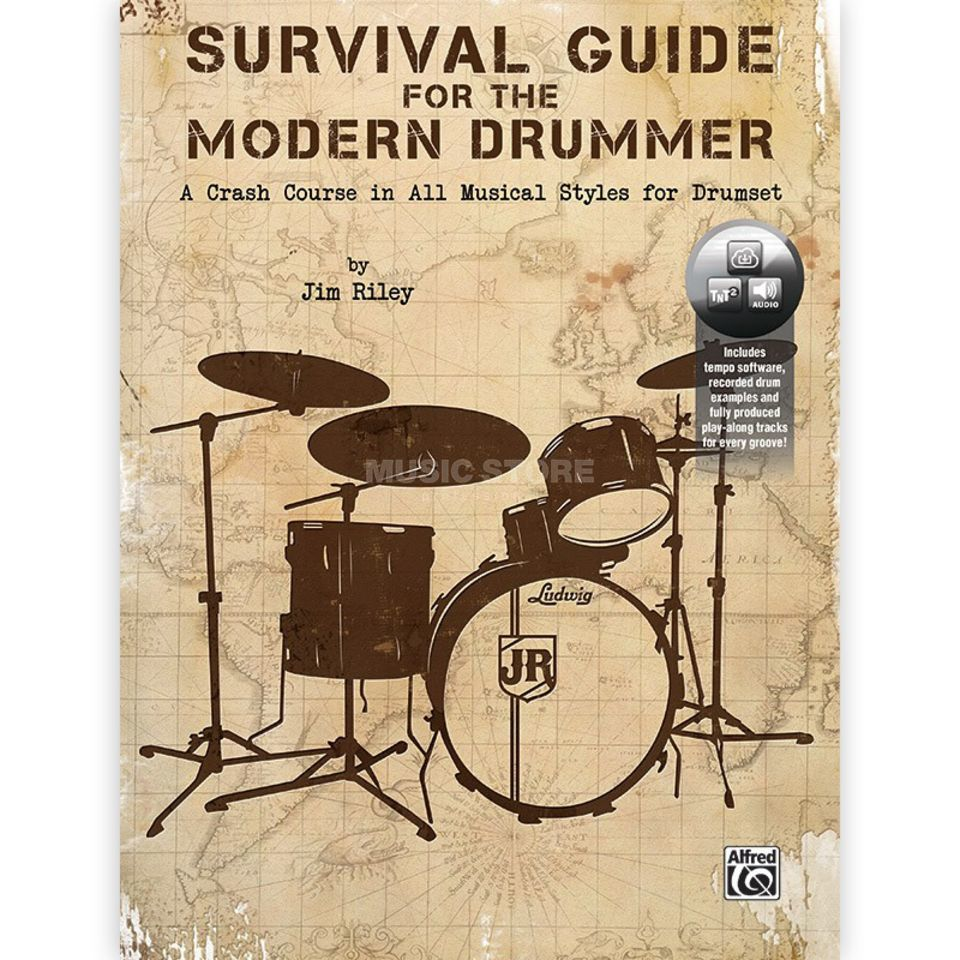 Alfred Music Survival Guide for the Modern Drummer Imagem do produto