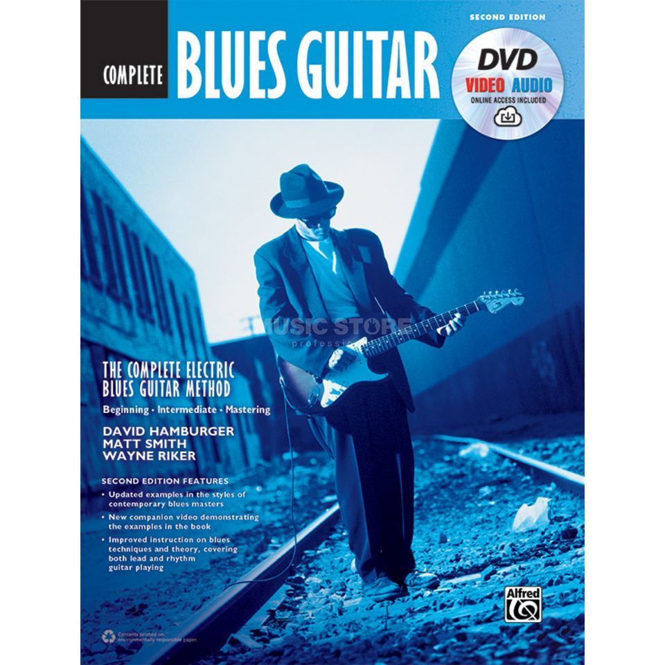 Alfred Music The Complete Blues Guitar Method: Complete Edition (Second Edition) Productafbeelding