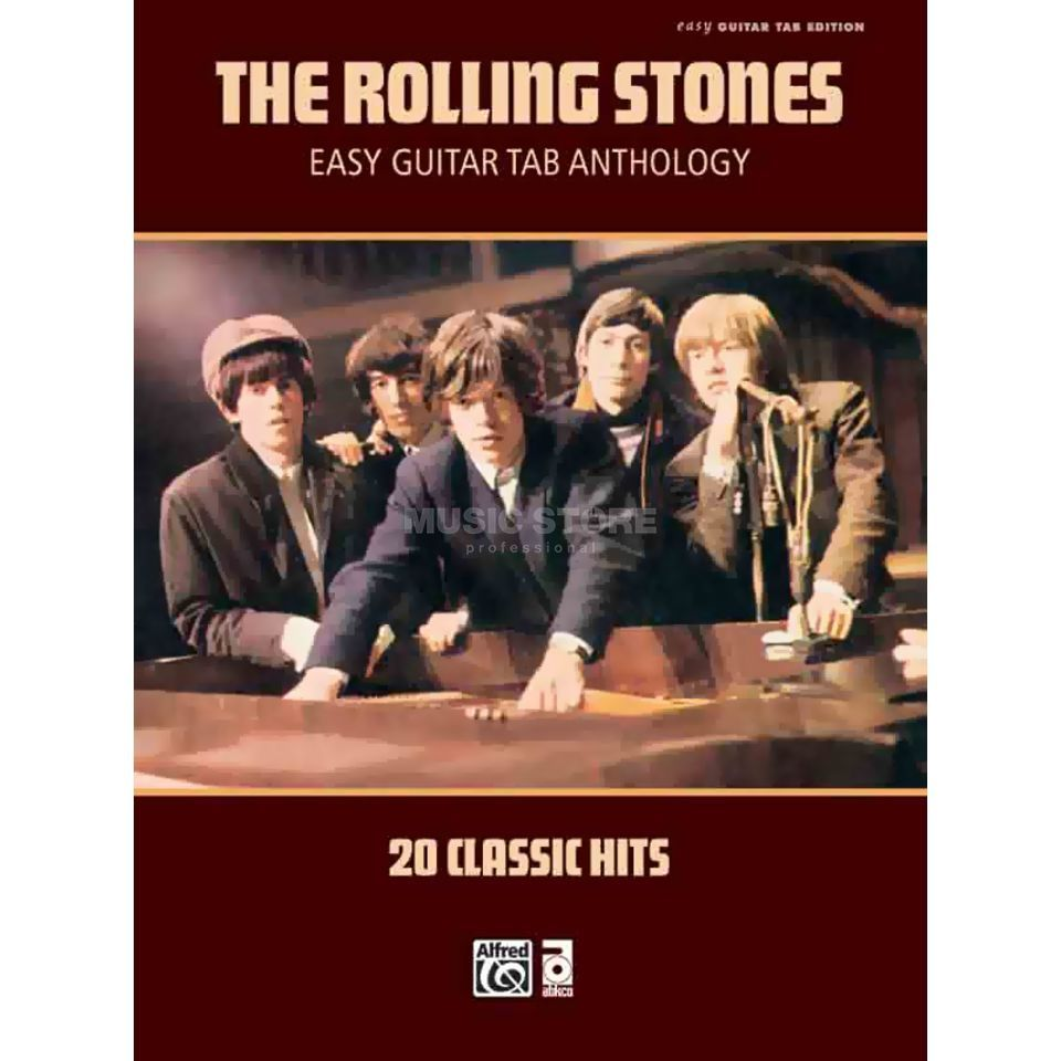 Alfred Music The Rolling Stones: Easy Guitar TAB Anthology Produktbild
