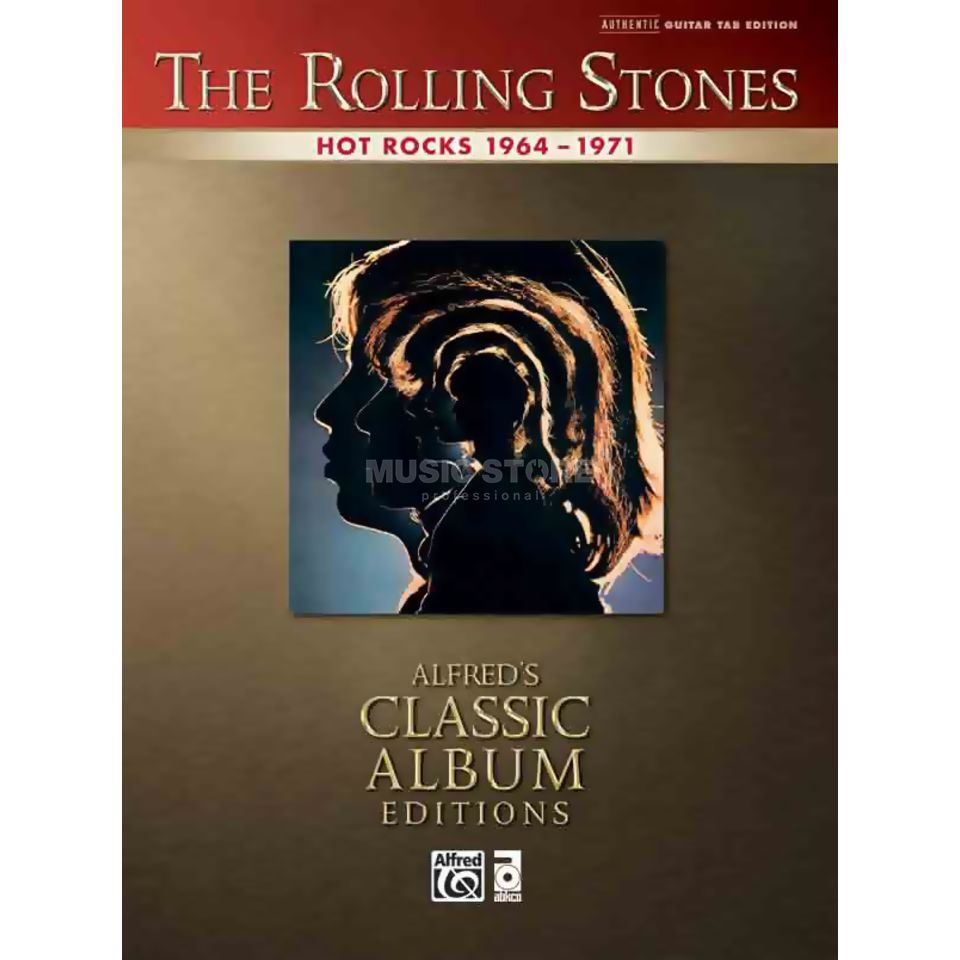 Alfred Music The Rolling Stones - Hot Rocks 1964-71 TAB Produktbillede