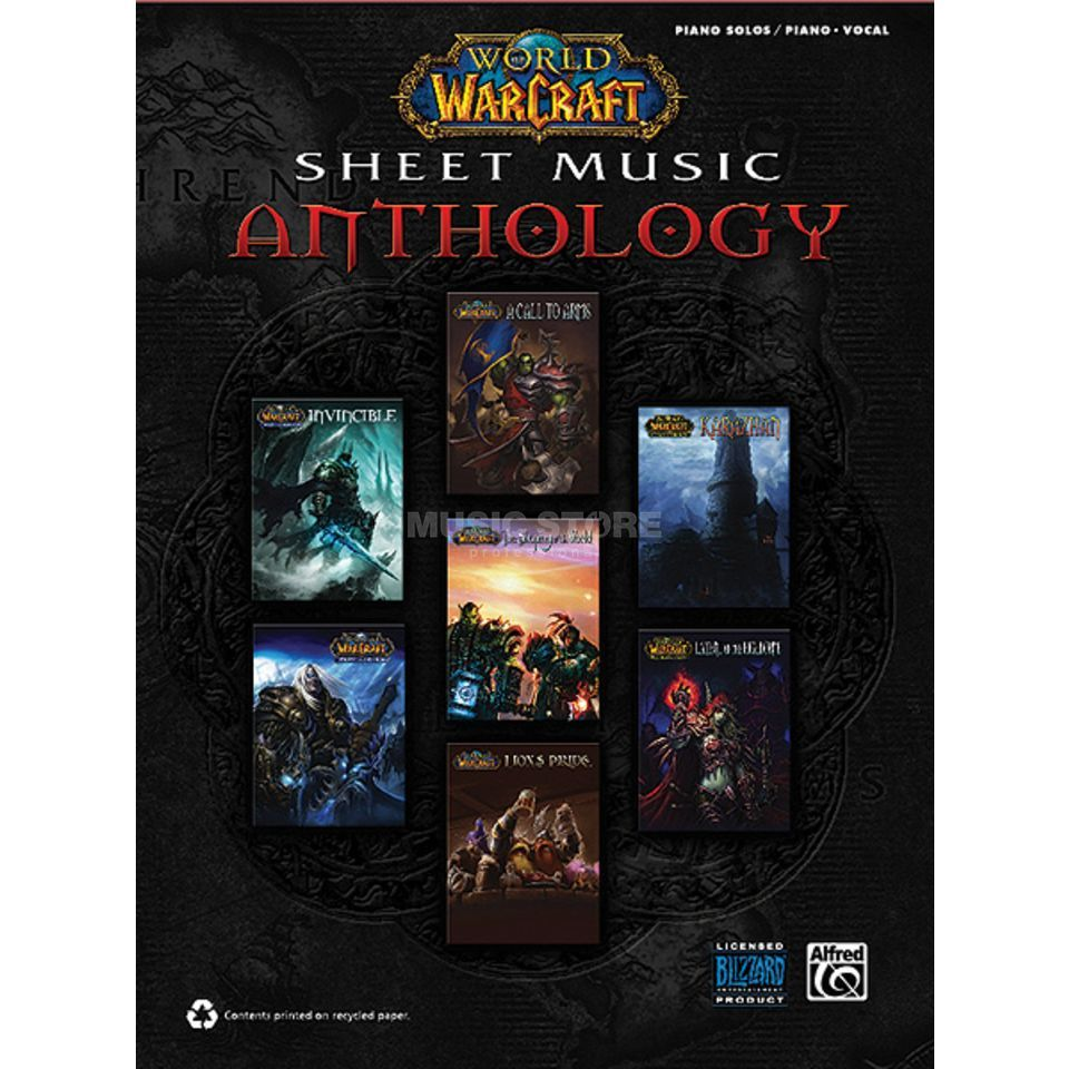 Alfred Music World of Warcraft Anthology Klavier Produktbild