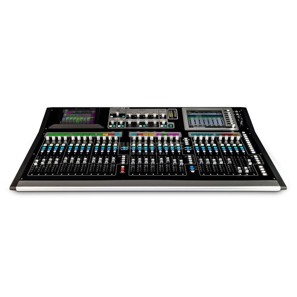 Allen & Heath GLD-112 Chrome 30 Busse, 8 Stereo FX Returns Produktbild