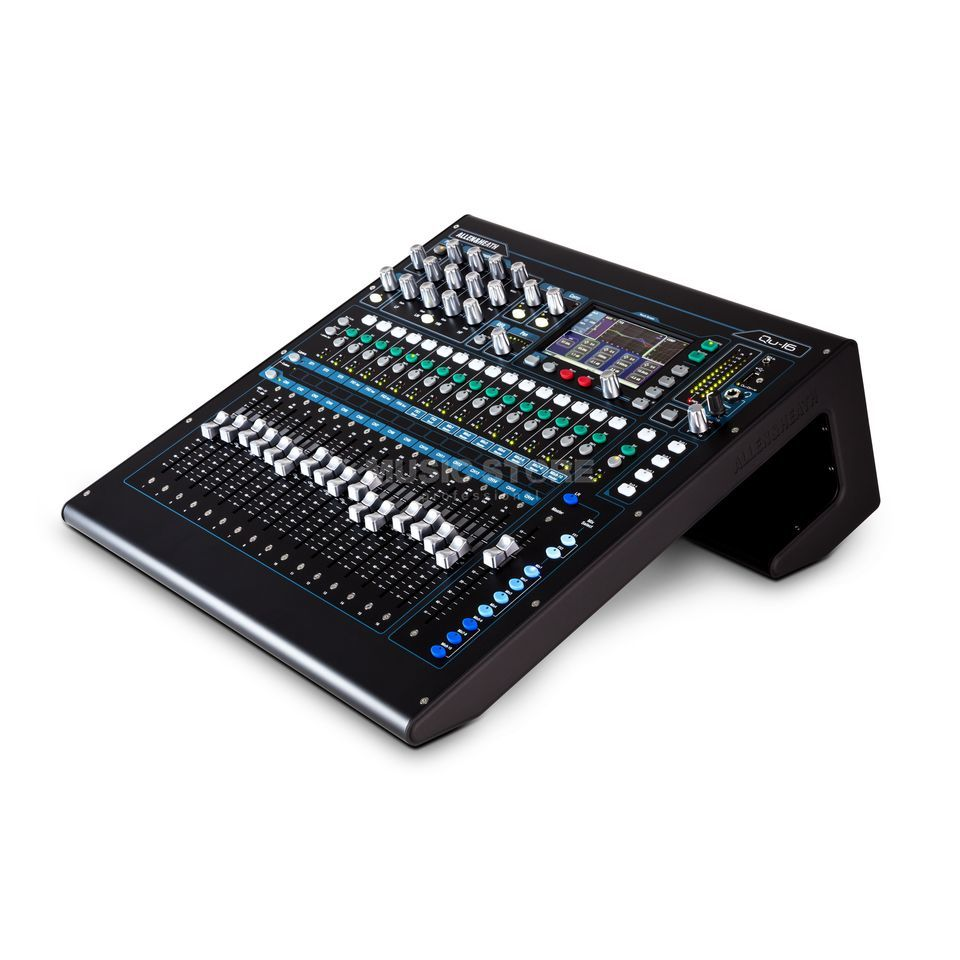 Allen & Heath QU 16 Chrome Edition 22 In, 12 Out Produktbild