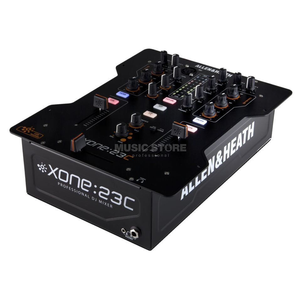 Allen & Heath Xone:23C 2-Channel DJ-Mixer with Sound Card Product Image
