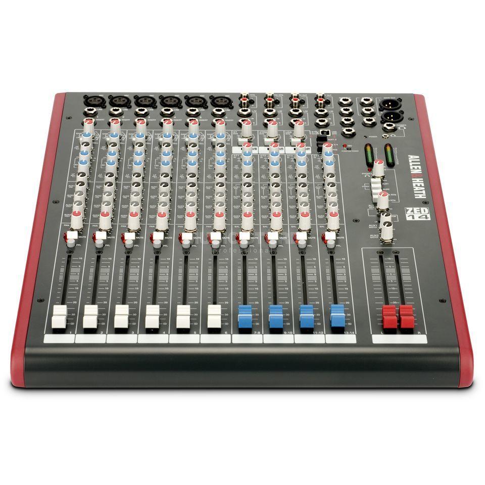 allen heath zed 1402 table mixage live recording usb port. Black Bedroom Furniture Sets. Home Design Ideas