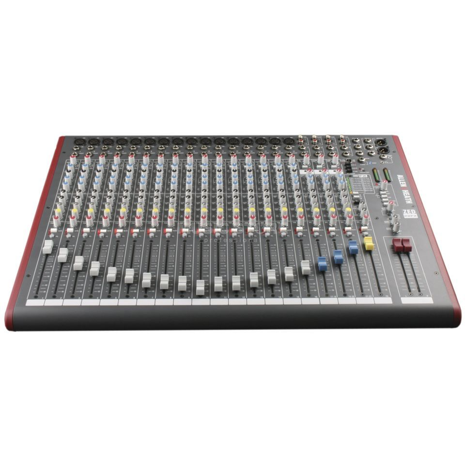 Allen & Heath ZED-22FX 22-Channel Series Live Mixer With USB I/O Produktbillede